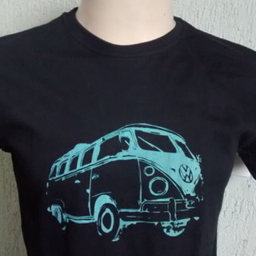 Blusa Camiseta Estampada Masculina Kombi