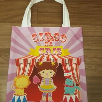 Bolsa Personalizada - Circo Menina