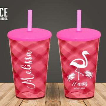 Copo Personalizado Flamingo