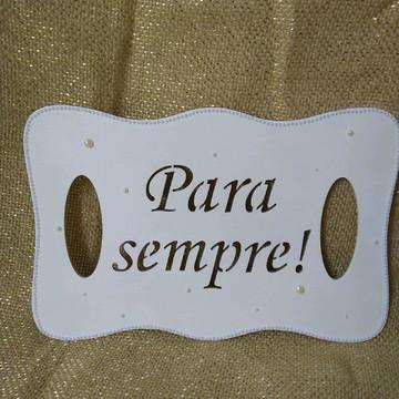 Placa de casamento