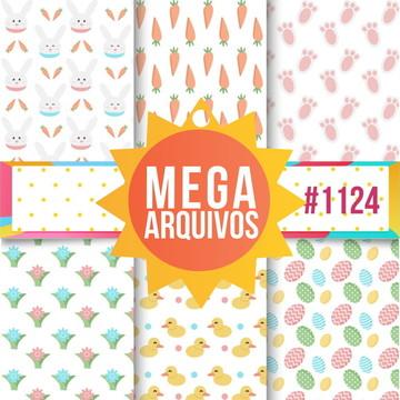#1124- Papel digital Páscoa