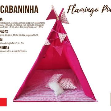 Kit Cabaninha - Flamingo Pink
