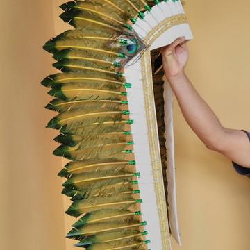 Cocar de Indígena Americano