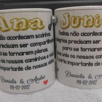 Canecas P/ Padrinhos