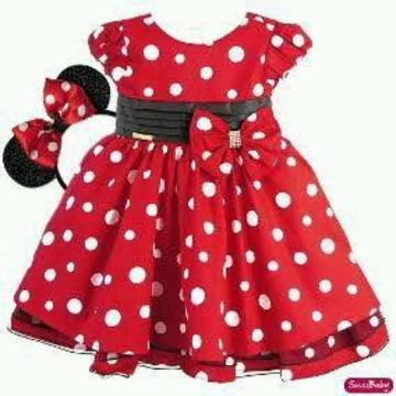 Vestido fantasia Minie