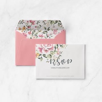 RSVP Vintage Flowers - ARTE DIGITAL