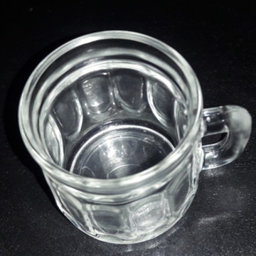 Mini caneca de vidro