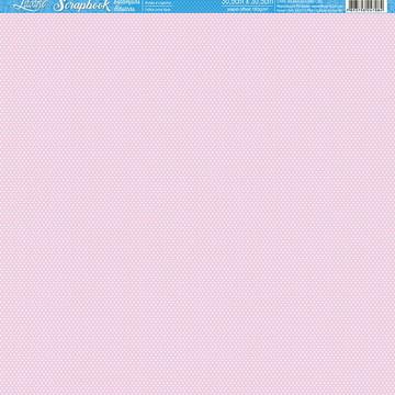 Papel Scrapbook Artesanato Bolinhas Litoarte 1 fl #SBB012