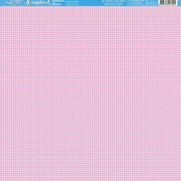Papel Scrapbook Artesanato quadradinho Litoarte 1 fl #SBB013