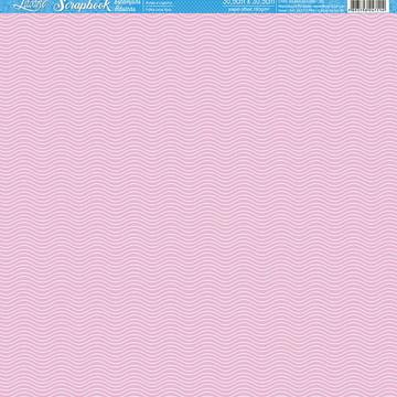 Papel Scrapbook Artesanato Linhas Litoarte 1 fl #SBB015