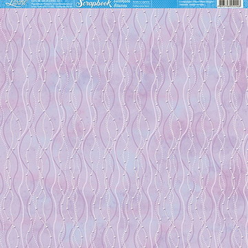 Papel Scrapbook Artesanato Linhas Litoarte 1 fl #SBB067