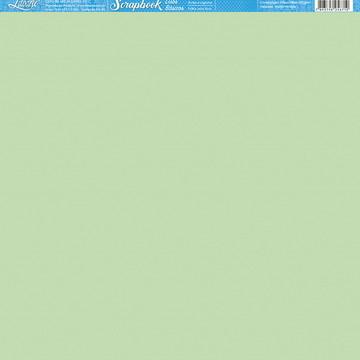 Papel Scrapbook Artesanato Liso Verde Litoarte 1 fl #SBB081