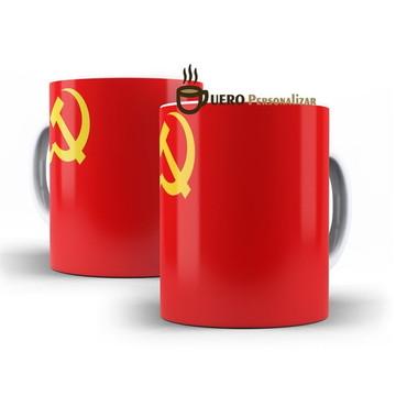 Caneca União Sovietica URSS Bandeira