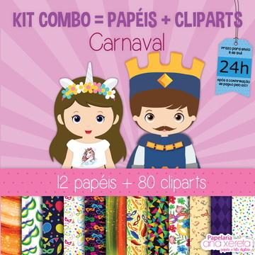 Kit Digital Completo Carnaval