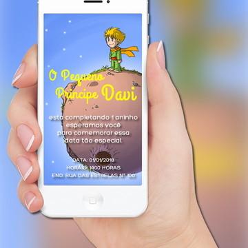 Convite Digital Pequeno Principe