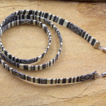 5a17396dc Cordão para oculos colorido etnico acessorios bijuterias