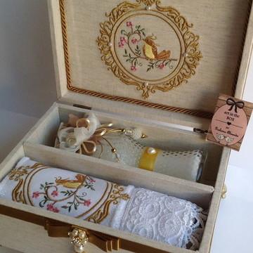 Caixa Kit Lavabo Luxo Dia das mães