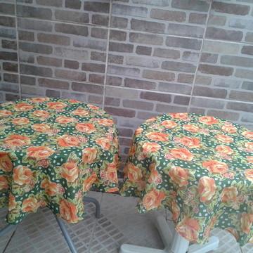 Toalha de mesa de chita