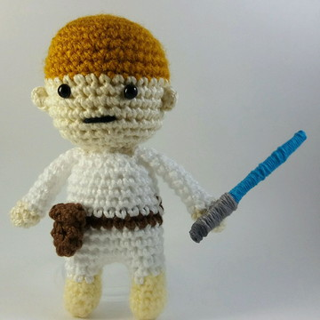 Luke Skywalker Amigurumi