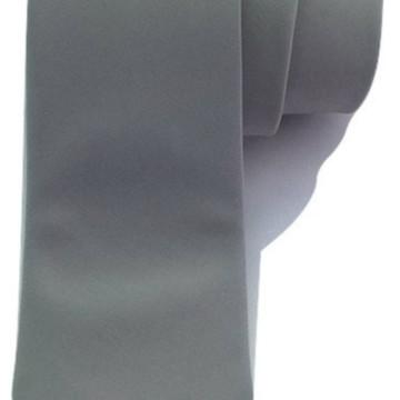 Gravata Cinza Chumbo Fosca Semi Slim - Promoção