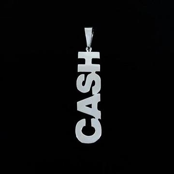 Pingente de Prata Johnny Cash
