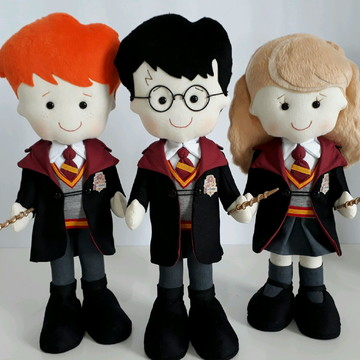 Harry Potter,Rony e Hermione