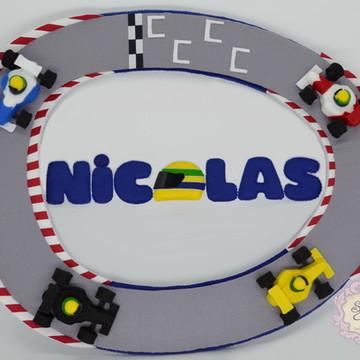 Porta maternidade Fórmula 1