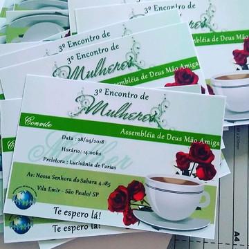 Convite Chá de Mulheres