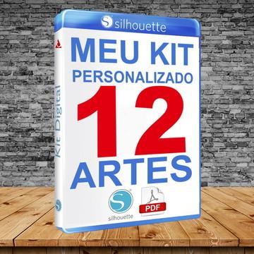 Criação de Artes Kit 12 Artes para personalizados