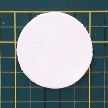 Aplique de circulo 5 cm em EVA (pacote com 30 und)