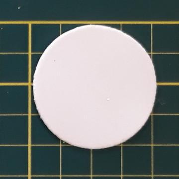 Aplique de circulo 4 cm em EVA (pacote com 40 und)