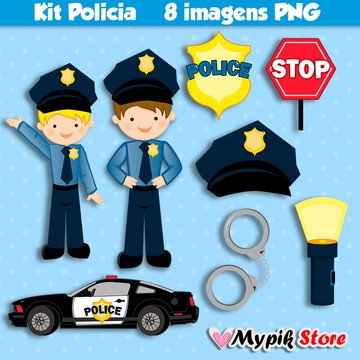Kit Digital Policia Menino