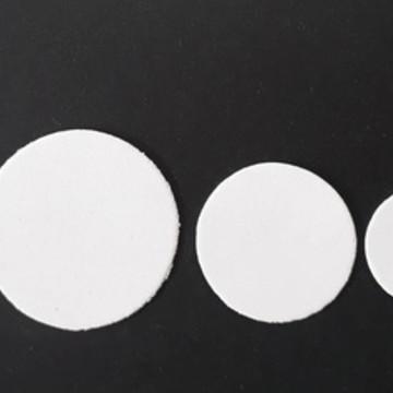 Apliques de circulos variados em EVA (pacote com 50 und)