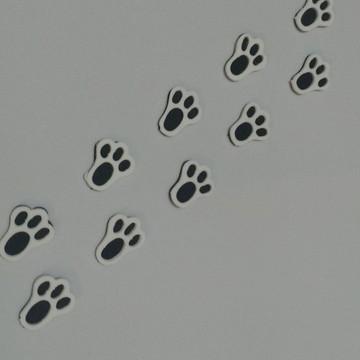 Mini Pegadas de coelho