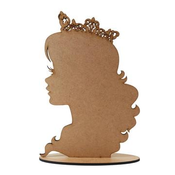 Lembrancinha Aniversário Princesa Barbie MDF Centro De Mesa
