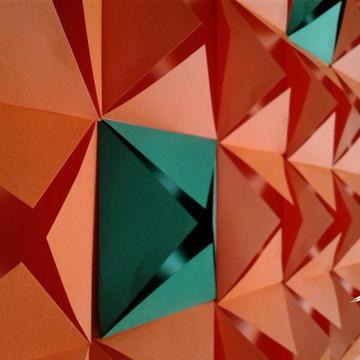 Painel Geométrico - 0,80 cm x 1,20 cm