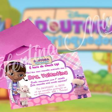 Convite IMPRESSO Doutora Brinquedos