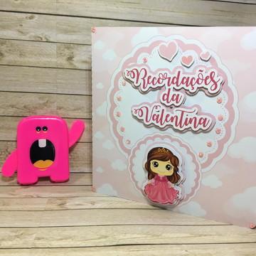 Recordações do bebê + Álbum Dental - Princesinha