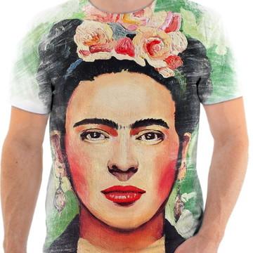 Camisa Camiseta Personaliza Pintora Frida Kahlo 3