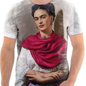 Camisa Camiseta Personaliza Pintora Frida Kahlo 4