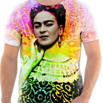 Camisa Camiseta Personaliza Pintora Frida Kahlo 6