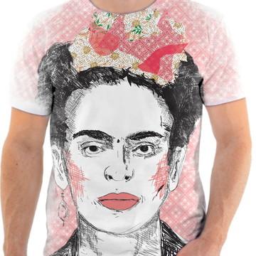 Camisa Camiseta Personaliza Pintora Frida Kahlo 7