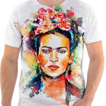 Camisa Camiseta Personaliza Pintora Frida Kahlo 9