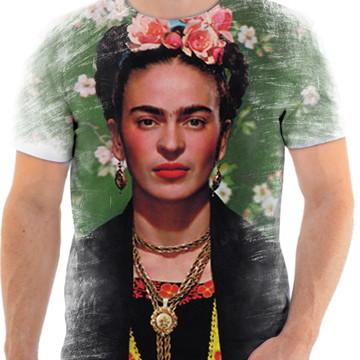 Camisa Camiseta Personaliza Pintora Frida Kahlo 10