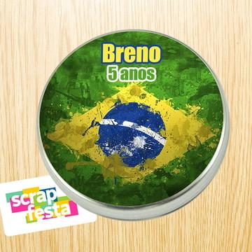 Latinhas Personalizadas Festa Brasil