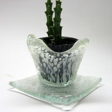 Vaso para Suculentas / Vidro / Decoração