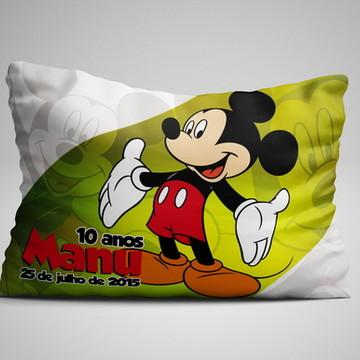 Kit 30 Almofadas 15x20cm Personalizadas Mickey