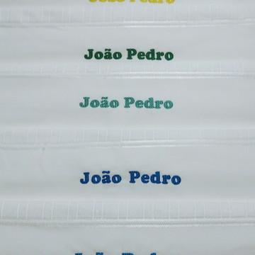 6 Toalhas de banho personalizadas com nome
