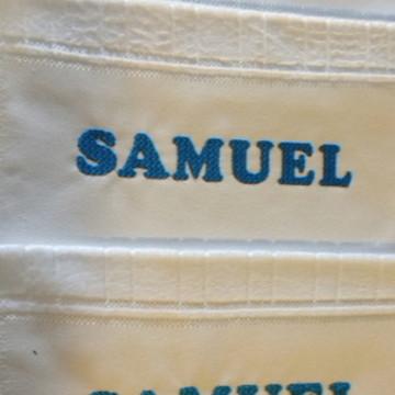 5 Toalhas de banho personalizadas com nome