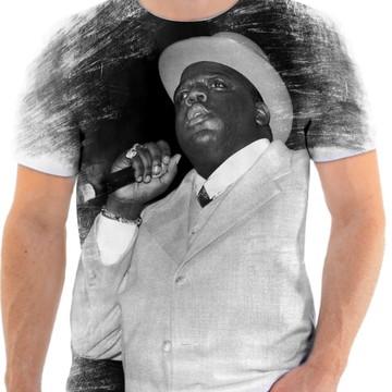 Camisa Camiseta Personaliza Cantor De Rap Notorius 08